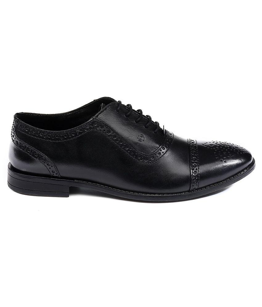 5cdd9c757291 Nez by Samsonite Black Formal Shoes Price in India- Buy Nez by ...