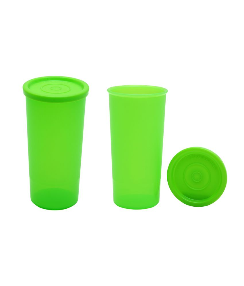 0fa025a94a1 Tupperware Cutic Tumbler Plastic Containers - Set of 2: Buy Online at Best  Price in India - Snapdeal
