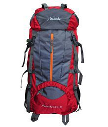 Attache 1021R Climate Proof Ruchsack & Hiking Backpack - Red And Grey