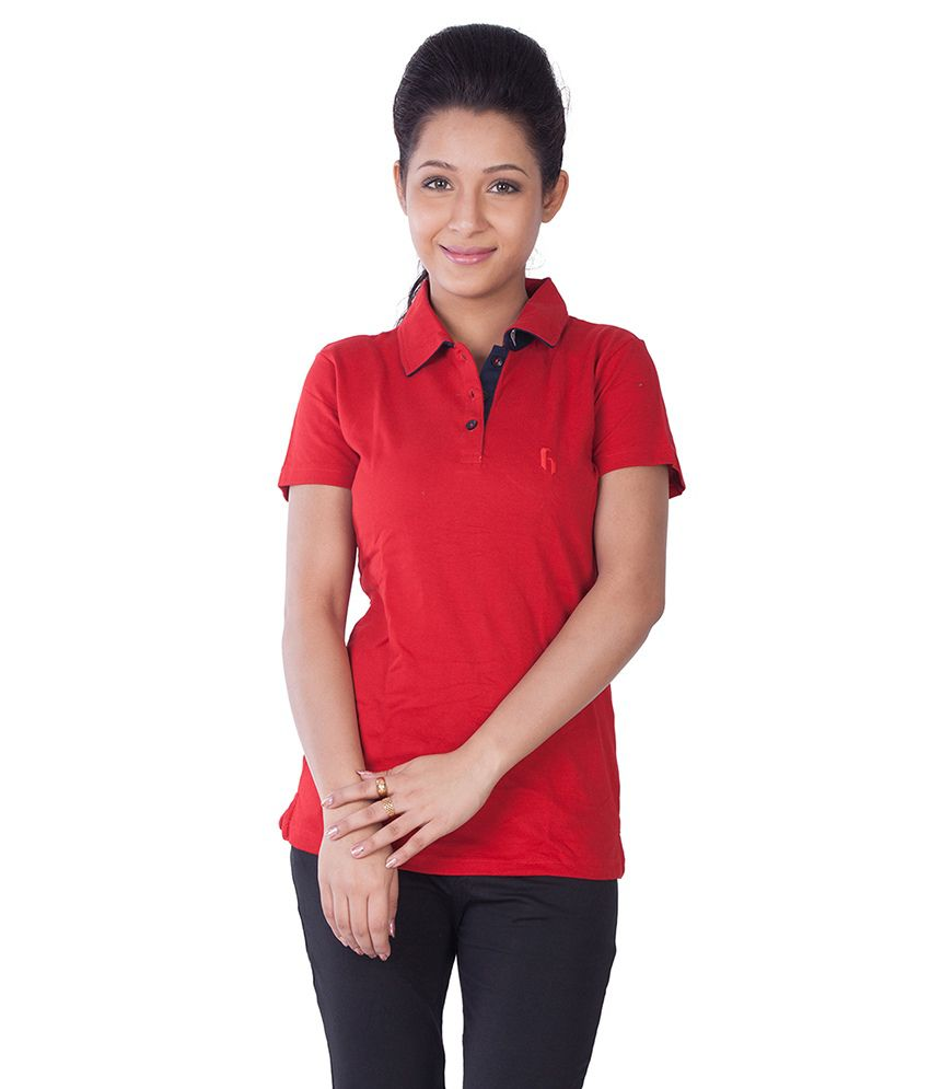 5be94bf8 Buy Hegen Ladies Polo T-shirt Pack Of 2 Online at Best Prices in India -  Snapdeal