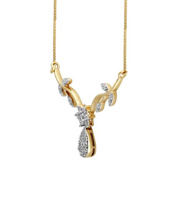 Nirvana 14Kt Floral Necklace