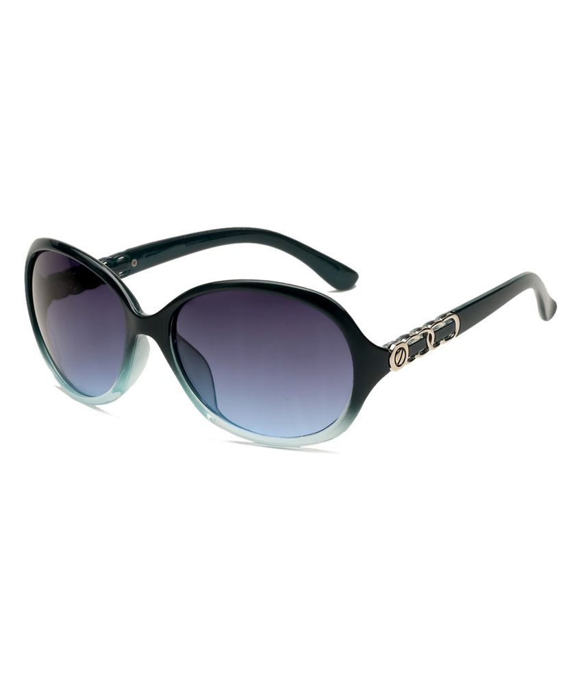 Escobar Julia 432 Blue Oversized Sunglasses