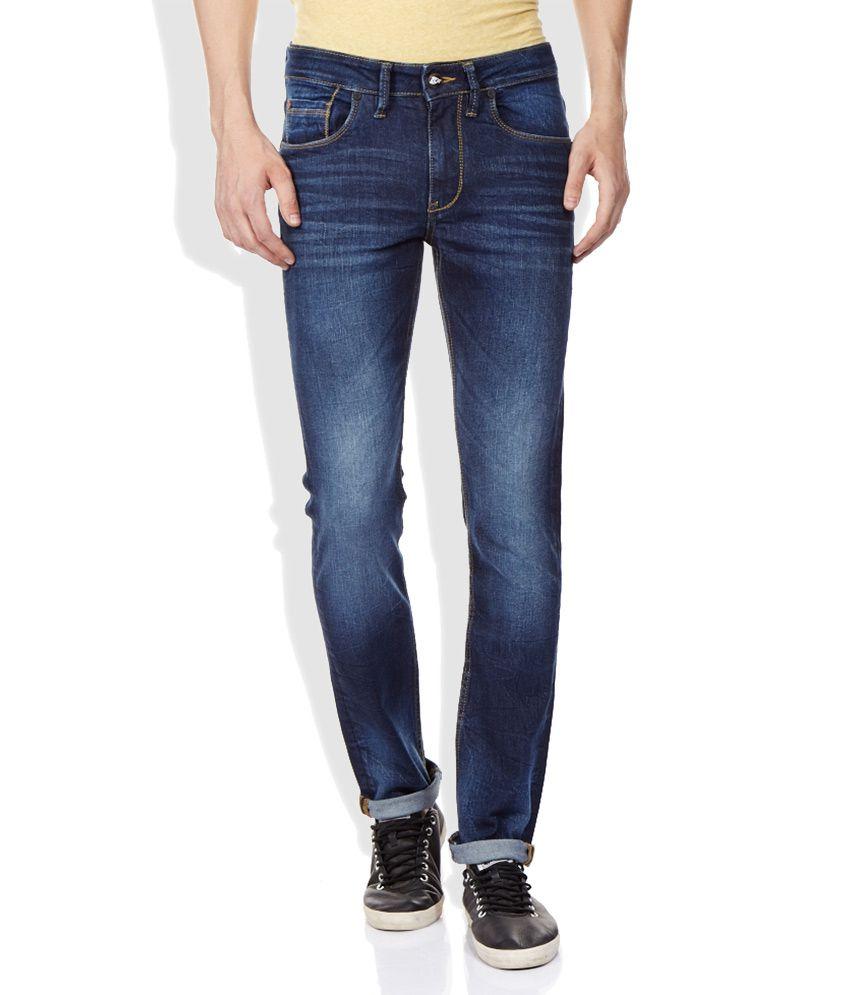 Ed Hardy Blue Jeans