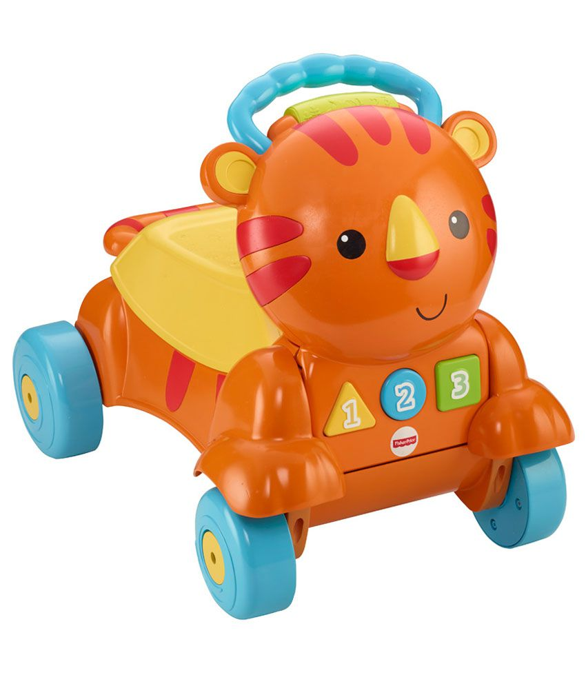 fisher price stride to ride lion instructions