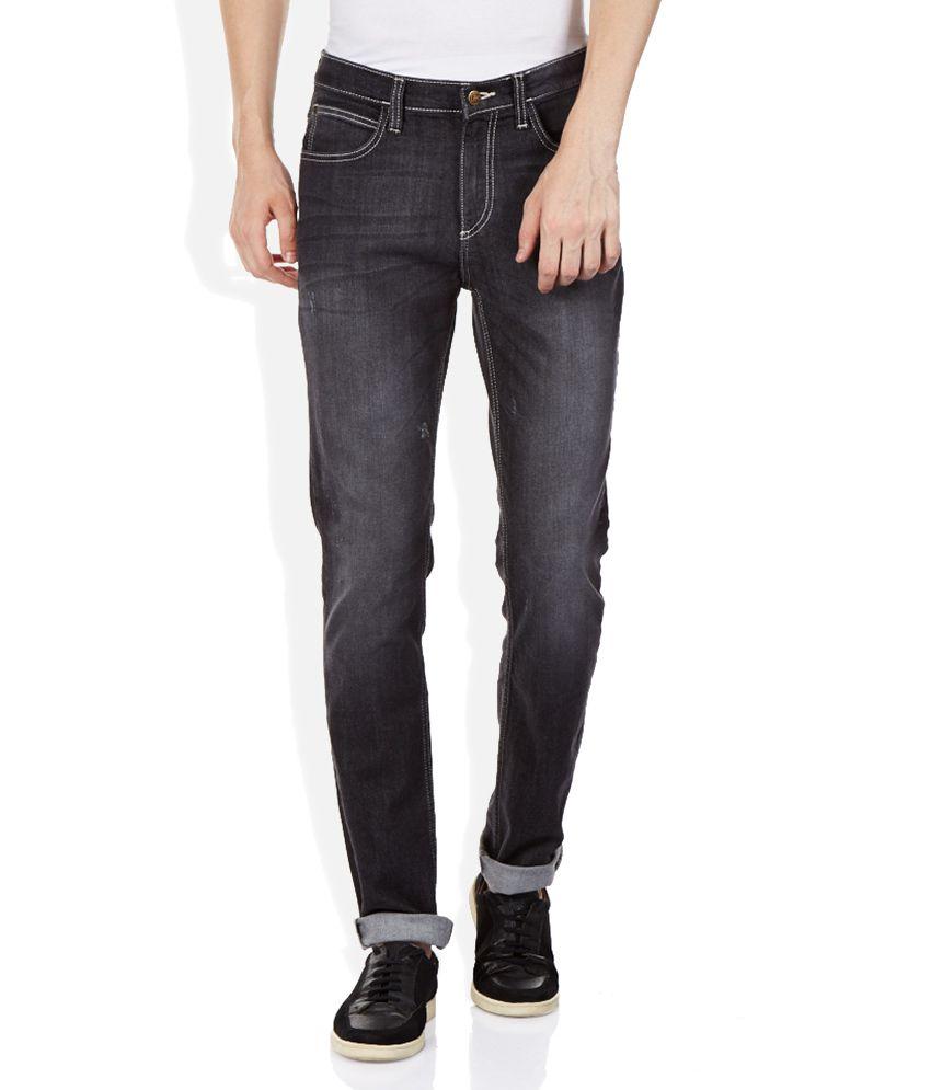 Lee Black Bruce Skinny Fit Jeans