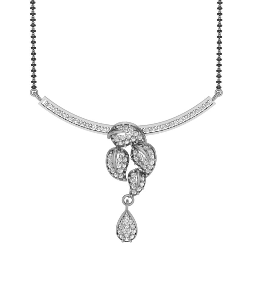 Charu Jewels Diamond Mangalsutra