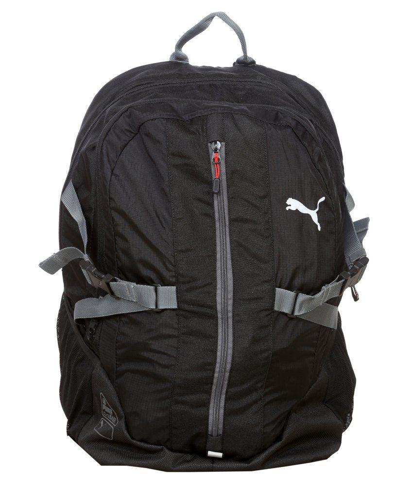 puma casual backpack black for men buy puma casual