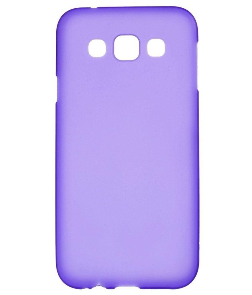 low priced 06382 cf5b1 F2s Back Cover For Samsung Galaxy E5 Sm-e500f Sm-e500h - Purple