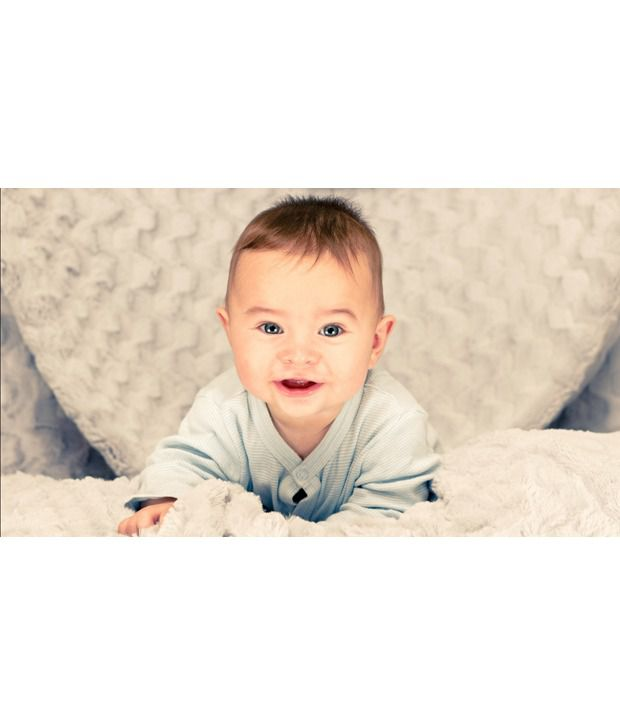 Mntc Cute Baby Good Morning Poster 12 X 18 Inch 12 X 18 Inch