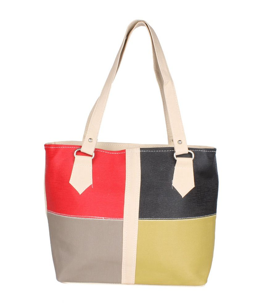 Jimmy Octan Multicolor Shoulder Bags For Women