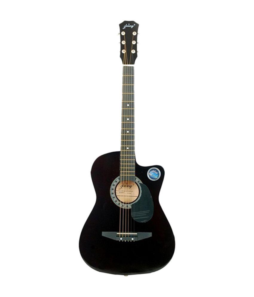 jixing jxng blk black acoustic guitar musical instrument buy jixing jxng blk black acoustic. Black Bedroom Furniture Sets. Home Design Ideas