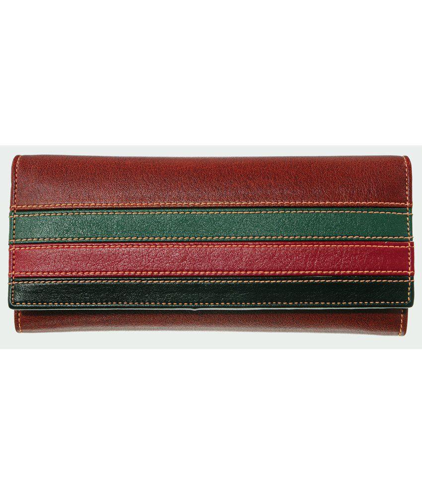 Lee Italian Light Brown Leather Regular Wallet