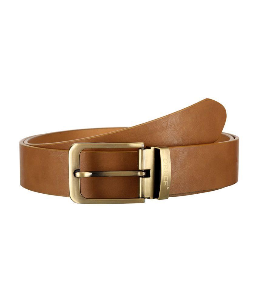 Orkee Tan Color Men Formal Belt