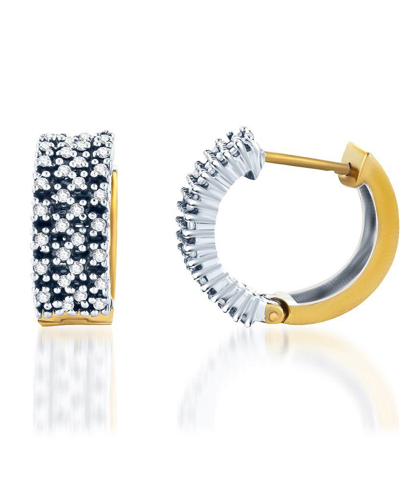 Sukkhi Intricately Crafted Oxidise Earring