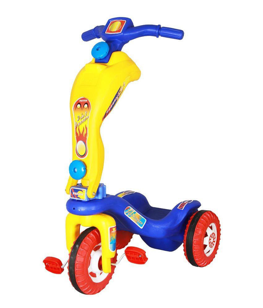 Playtool 2-In-1 Tricycle Cum Scooter - Buy Playtool 2-In-1 ...