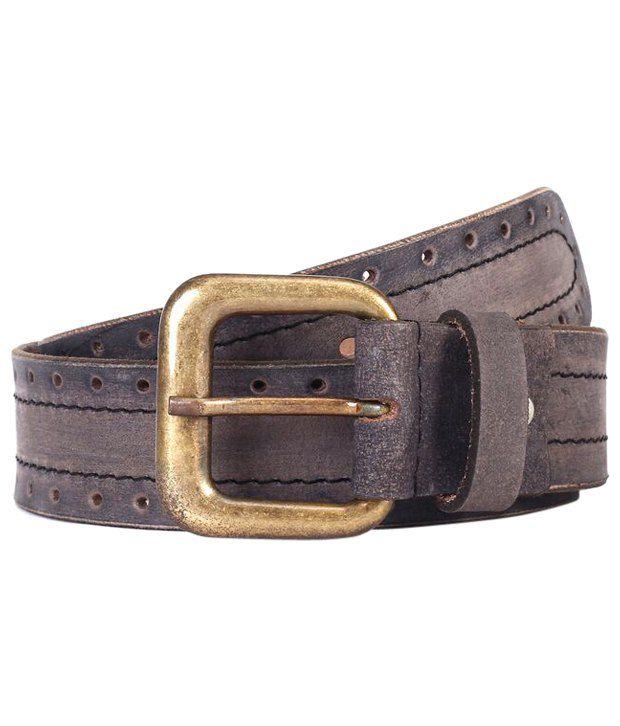 WildHorn Astonishing Brown Casual Belt For Men