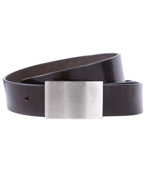 WildHorn Marvellous Brown Formal Belt For Men