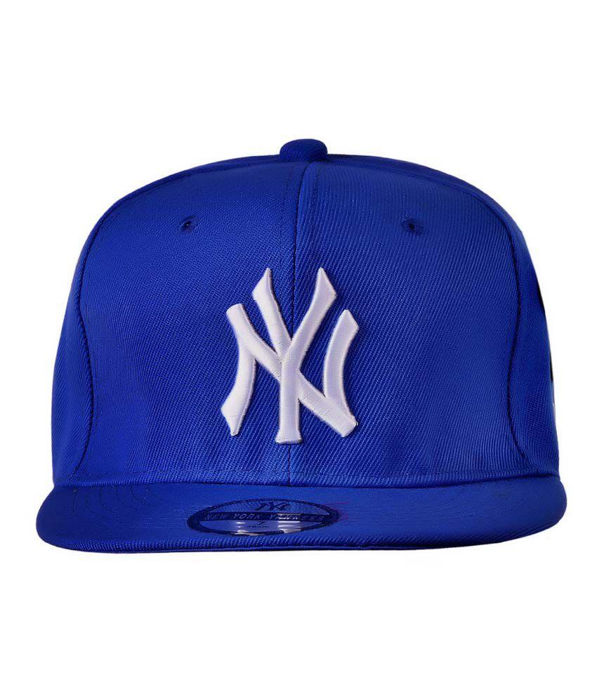 Cravers Blue Cotton Summer Cap for Men - Buy Online   Rs.  640e0d04ef6