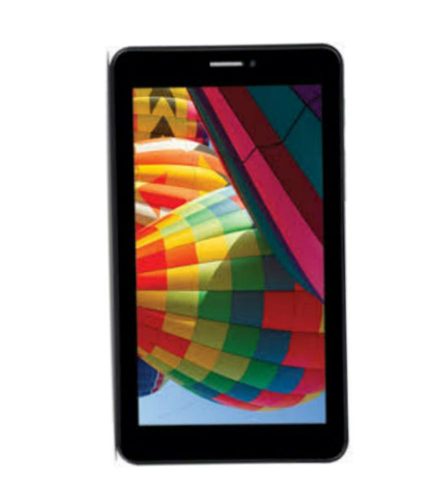 Iball Slide 3G Q7271 IPS20 8GB 3G Calling Tablet Gold