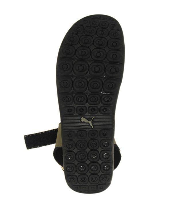 0b501d661629 Puma Silics Mesh Dp Olive Green Floater Sandal - Buy Puma Silics ...