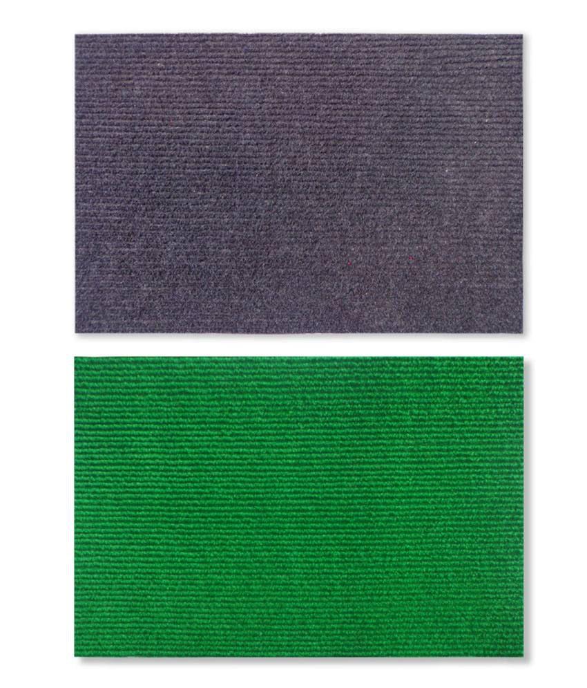 Fantasy Nano Nylon Blue & Green Floor Mats (Set of 2)