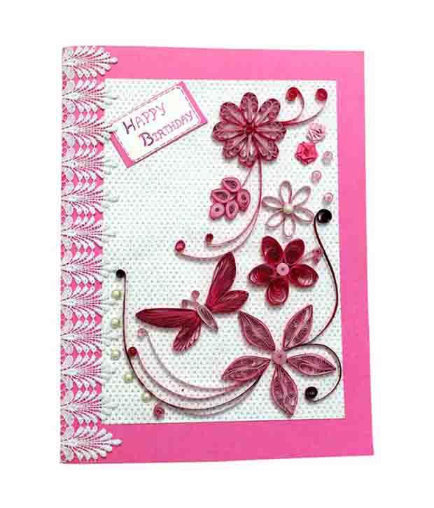 Priyanka Craft Works Happy Birthday Greeting Card Buy Online At