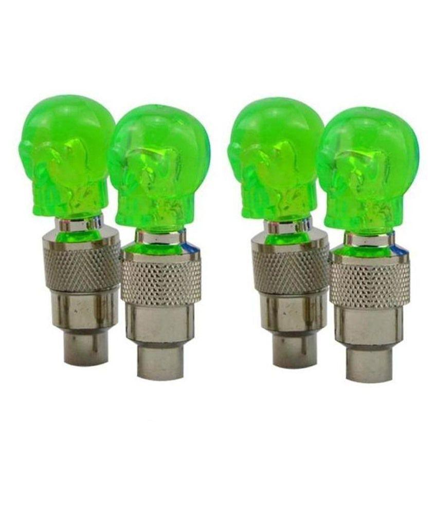 Speedy Green Skull Shaped Led Motion Sensor Light For Maruti Ertiga Set Of 4  available at snapdeal for Rs.352