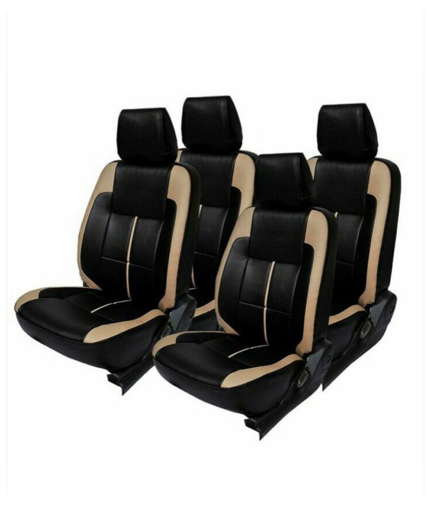 Vegas Black PU Leather Car Seat Cover For Hyundai Grand