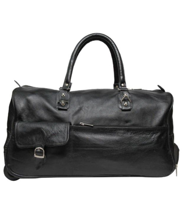 C Comfort Black Trolley Bag