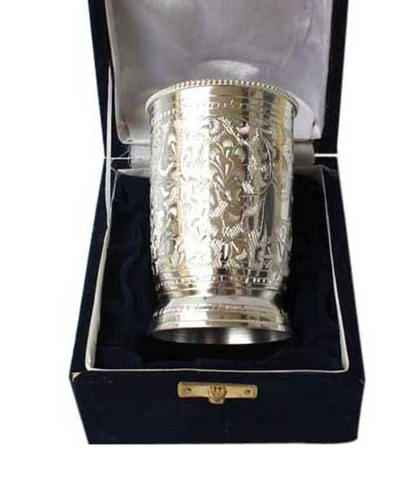 Being Nawab Handcrafted Silver Glass