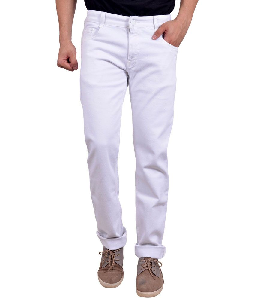 Studio Nexx White Relaxed Jeans