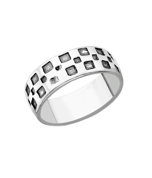 Taraash 92.5 Silver Ring