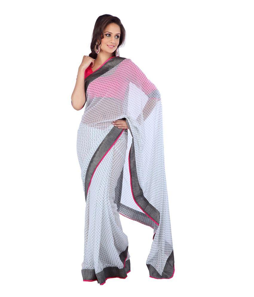 Velli Border Work Pink Silk Designer Saree with Blouse Piece