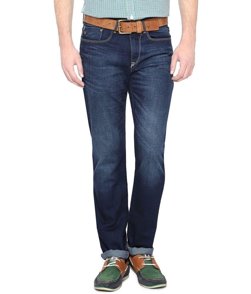 Allen Solly Blue Slim Fit Jeans
