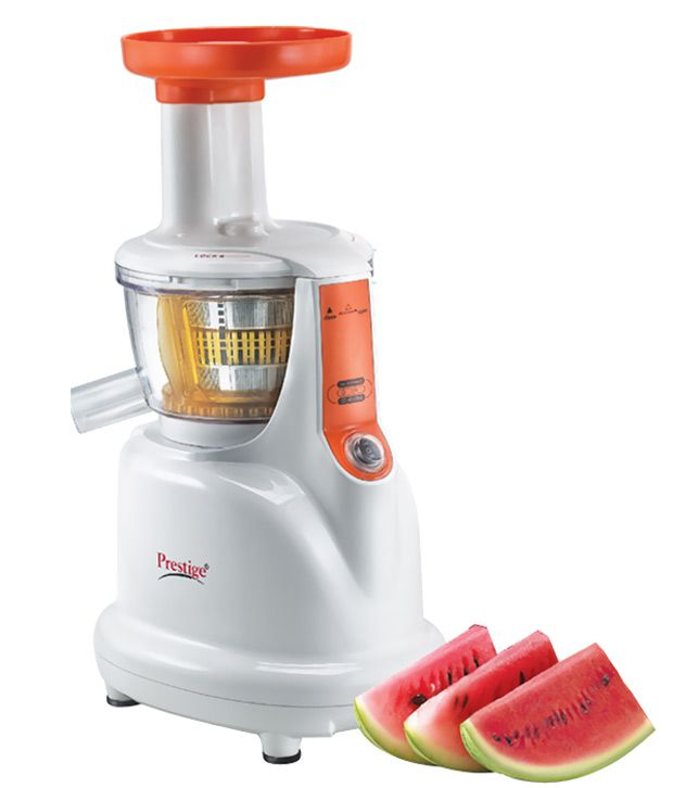 Delizia Slow Juicer Review : Prestige SLOW JUICER PSJ 2.0 Juicer WHITE Price in India - Buy Prestige SLOW JUICER PSJ 2.0 ...