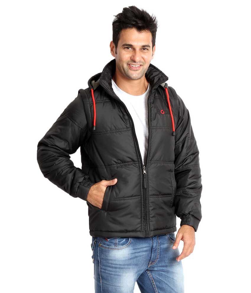 10ef2c17893 Rodid Black Full Sleeve Solid Men's Gilet Jacket - Buy Rodid Black ...