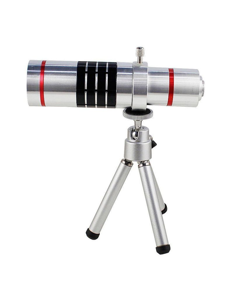 Smiledrive Samsung Note 4 18X Telescope Lens Kit Set - Zoom Lens, Back Cover & Mobile Tripod