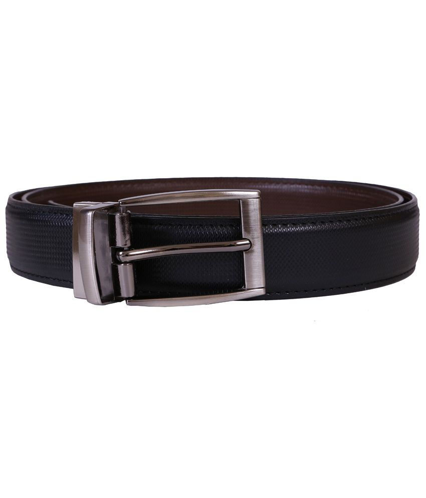 Star Luck Black Non Leather Belt
