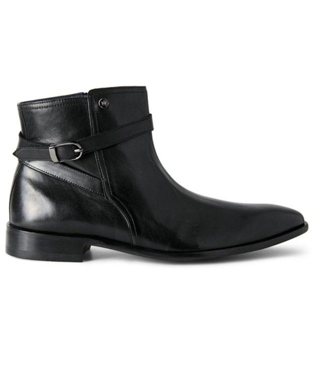 Louis Philippe Black Boots