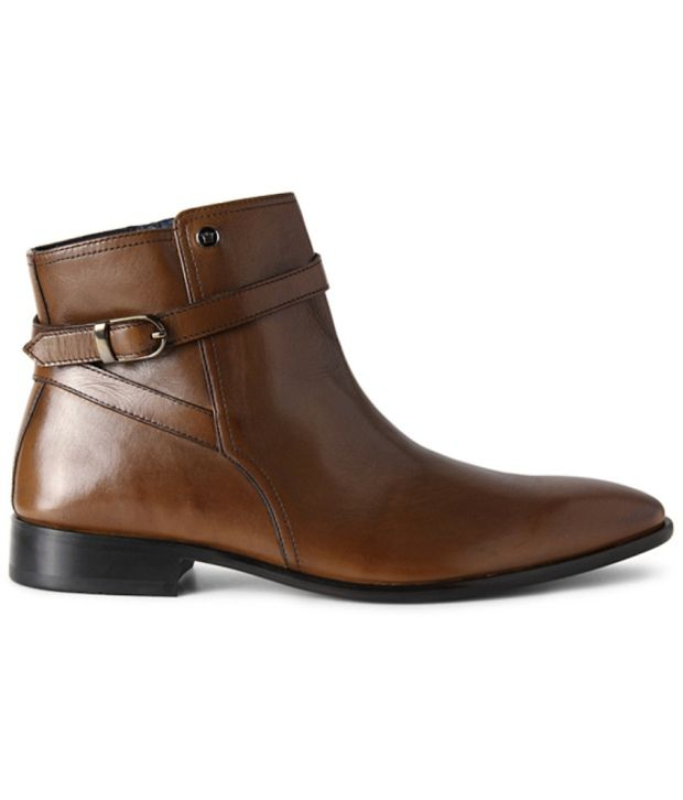 Louis Philippe Brown Boots
