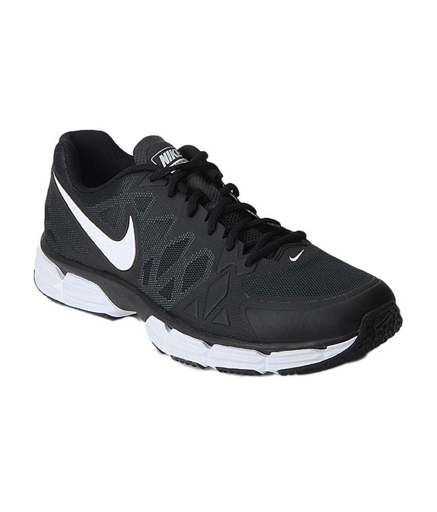 watch 895b5 8fdfa Nike Dual Fusion Tr 6 Black Running Shoes