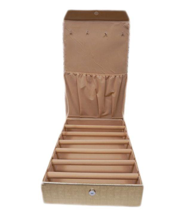 Fashion Atelier Large Bangle Box Six Rows Gold Color