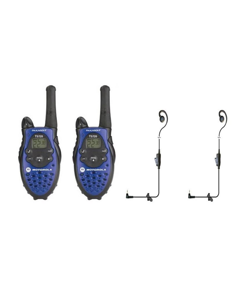 MOTOROLA T-5720 5 MILES WALKIE TALKIE ( HANDSFREE VERSION )
