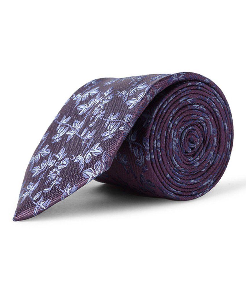 Purple Casual Tie