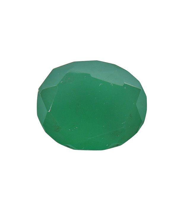 Rashi Ratan Bhagya Natural Green Onex Cts. 5.09 Ratti. 5.599