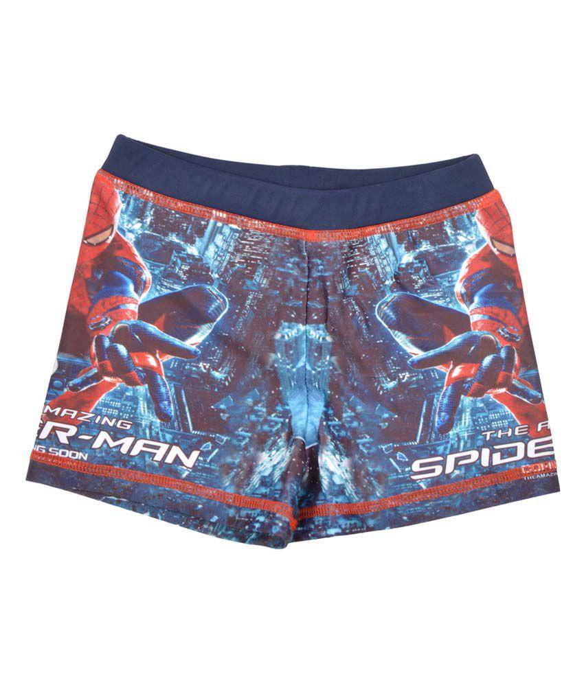 Stylemykidz Spiderman Swimming Trunk/ Swimming Costume