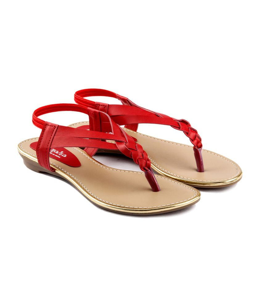 FOOTWEAR - Sandals Red(v) pXh2GUjBxc