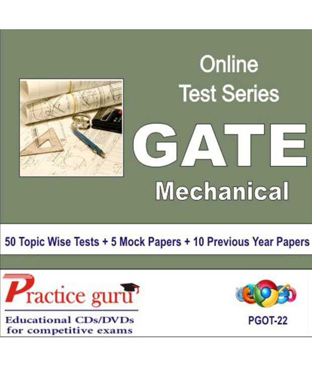 Latest Chapter Wise Tests + Mock for GATE - Mechanical. Complete syllabus coverage - sure shot results!