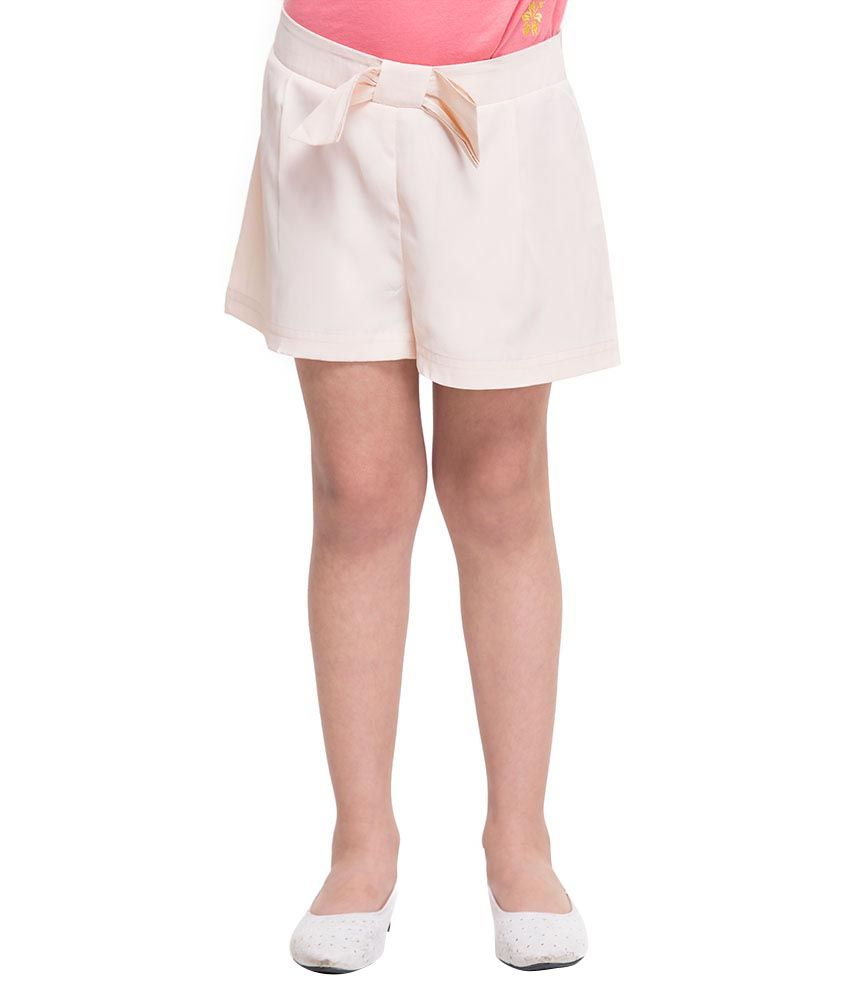 Oxolloxo White Synthetic Shorts