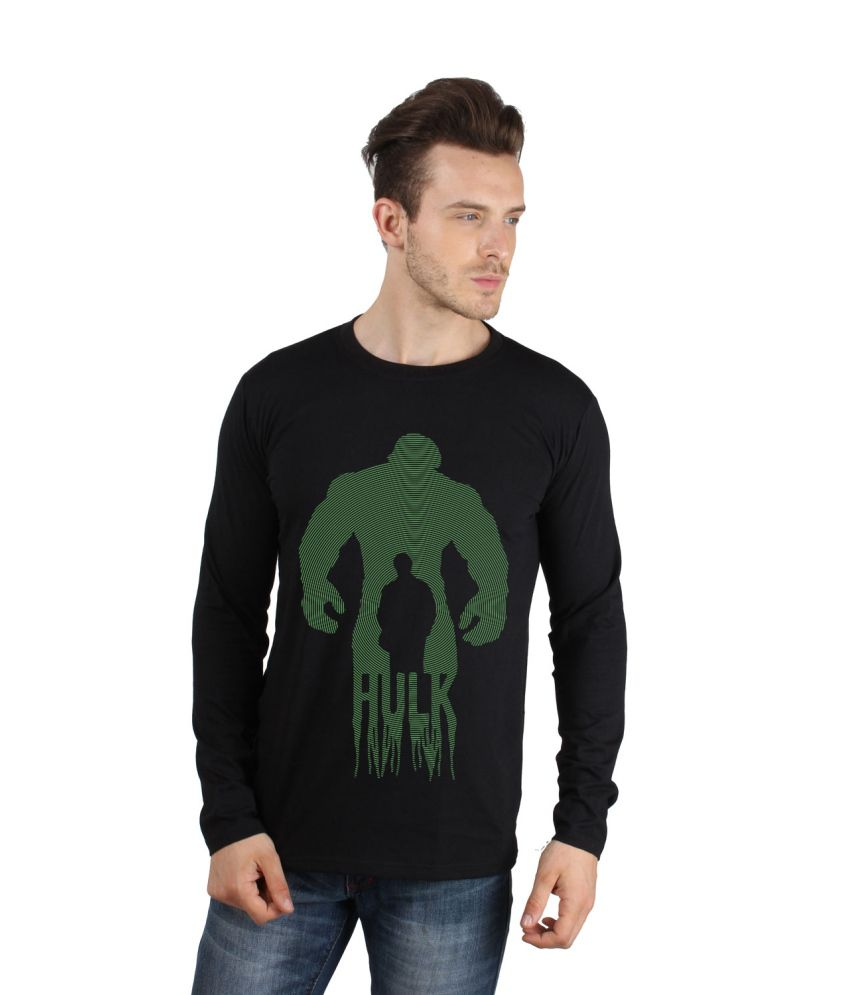 Sayitloud black cotton printed t shirt for men buy for T shirts for men printed
